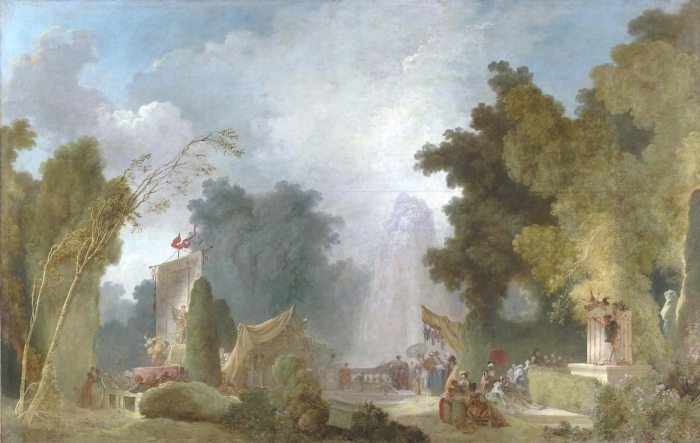 Jean-Honoré Fragonard (1732-1806) La Fête à Saint-Cloud Vers 1775-1780, huile sur toile, 211 x 331 cm Paris, collection Banque de France © RMN-Grand Palais / Gérard Blot